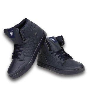Cash Money Sneakers - Schuhe hoch Herren -Blau