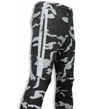 Top Star Exklusiver Dotted Camo Trainings Hosen -Camo Trainings Hosen- Schwarz