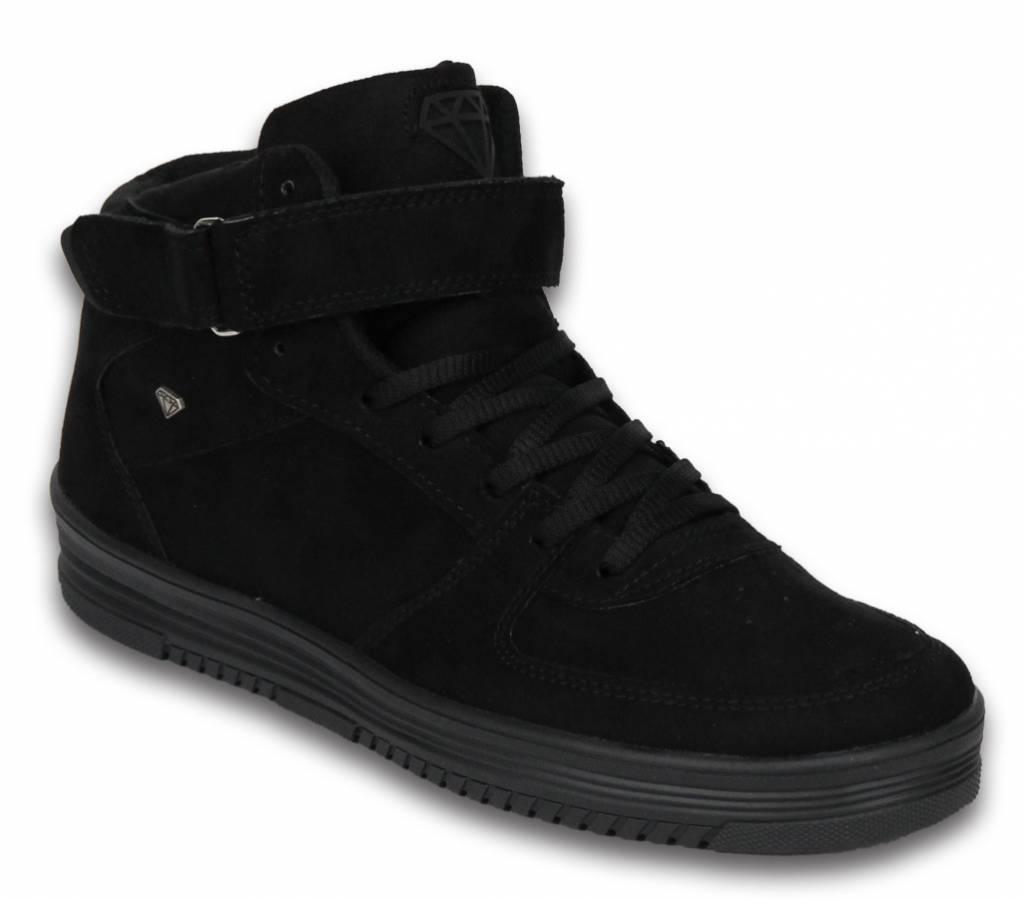 Sneakers Schuhe Hoch Herren Dolce Schwarz Styleitaly De