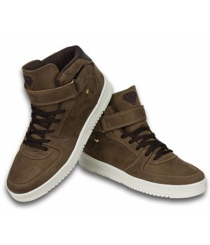 Cash Money Sneakers - Schuhe hoch Herren- Dolce Taupe