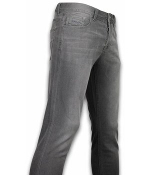 Orginal Ado Exklusive Basic Jeans - Regular Fit Casual 5 Pocket - Anthrazit