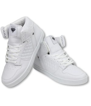 Cash Money Sneakers - Schuhe Hoch Herren - Jailor Weiß Matt