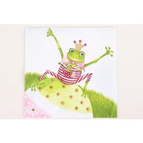 Serviette Frosch