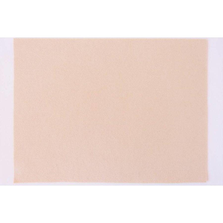 Filzplatte in beige
