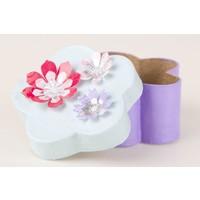 Blumenbox aus Pappmache