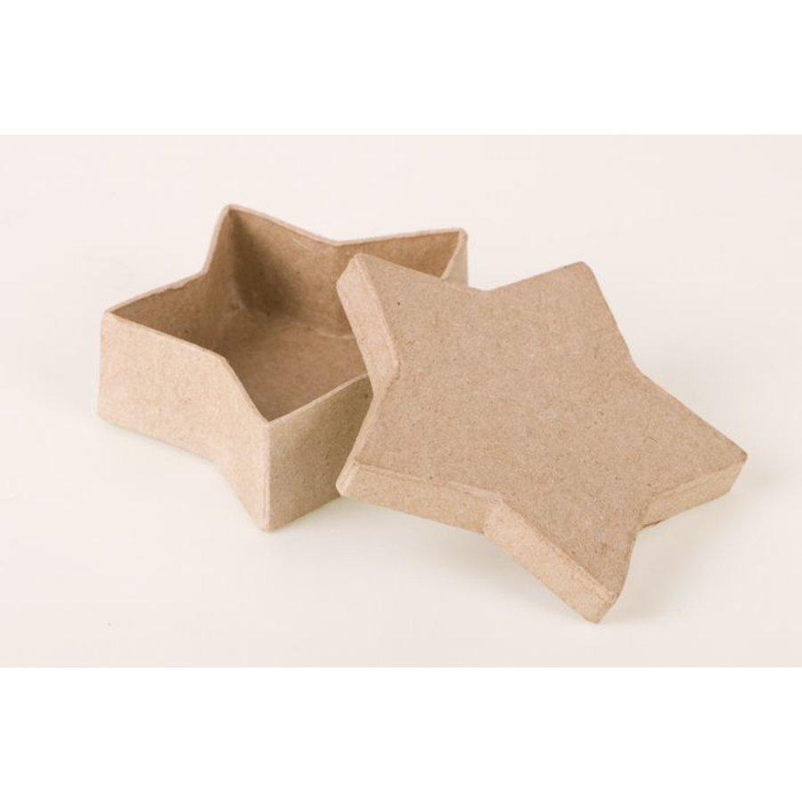 Box in Sternform aus Pappmache