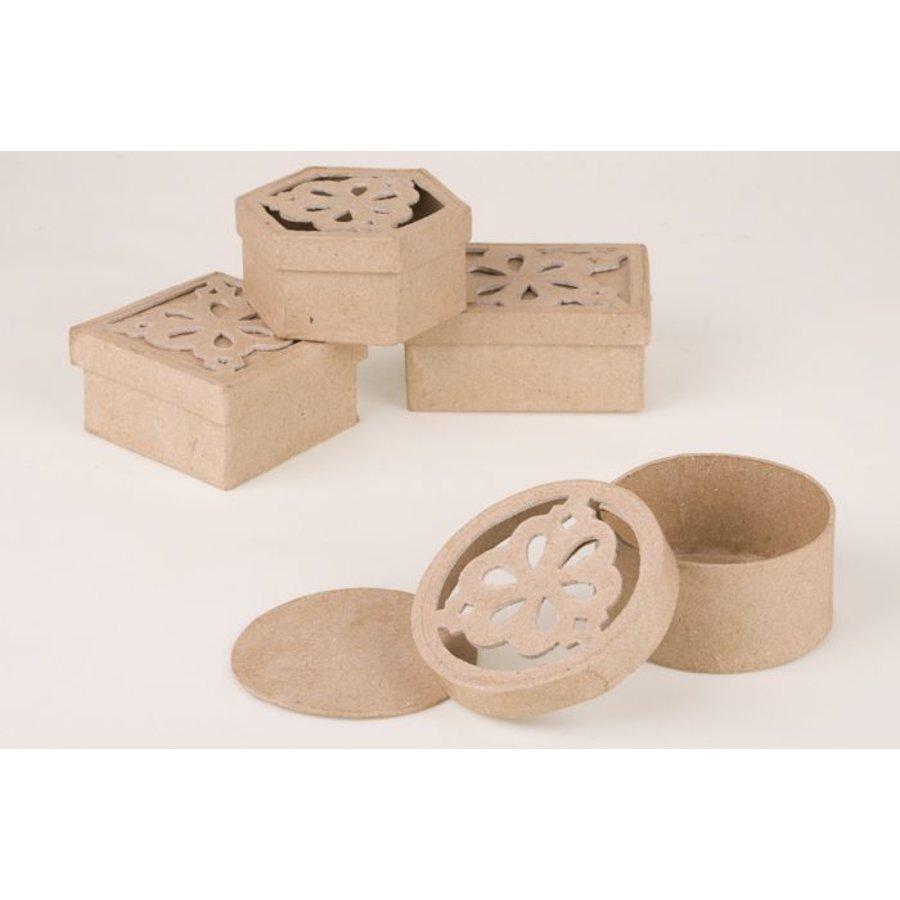 Ornamentbox aus Pappmache