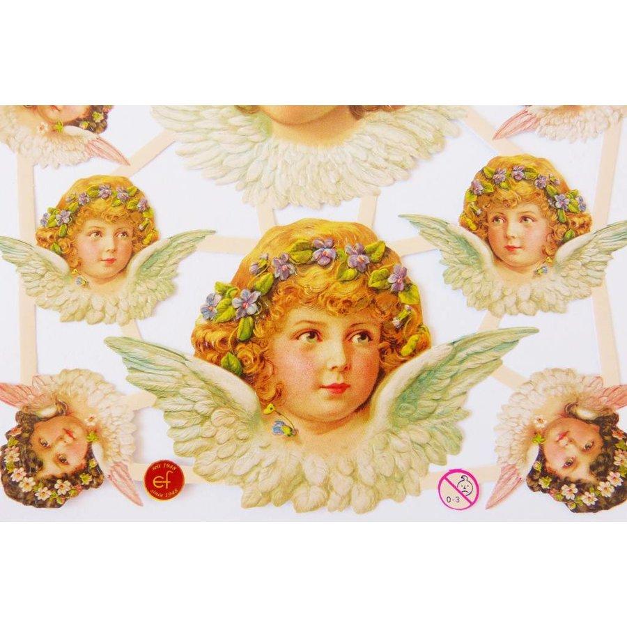 Vintage-Glanzbilder Engel