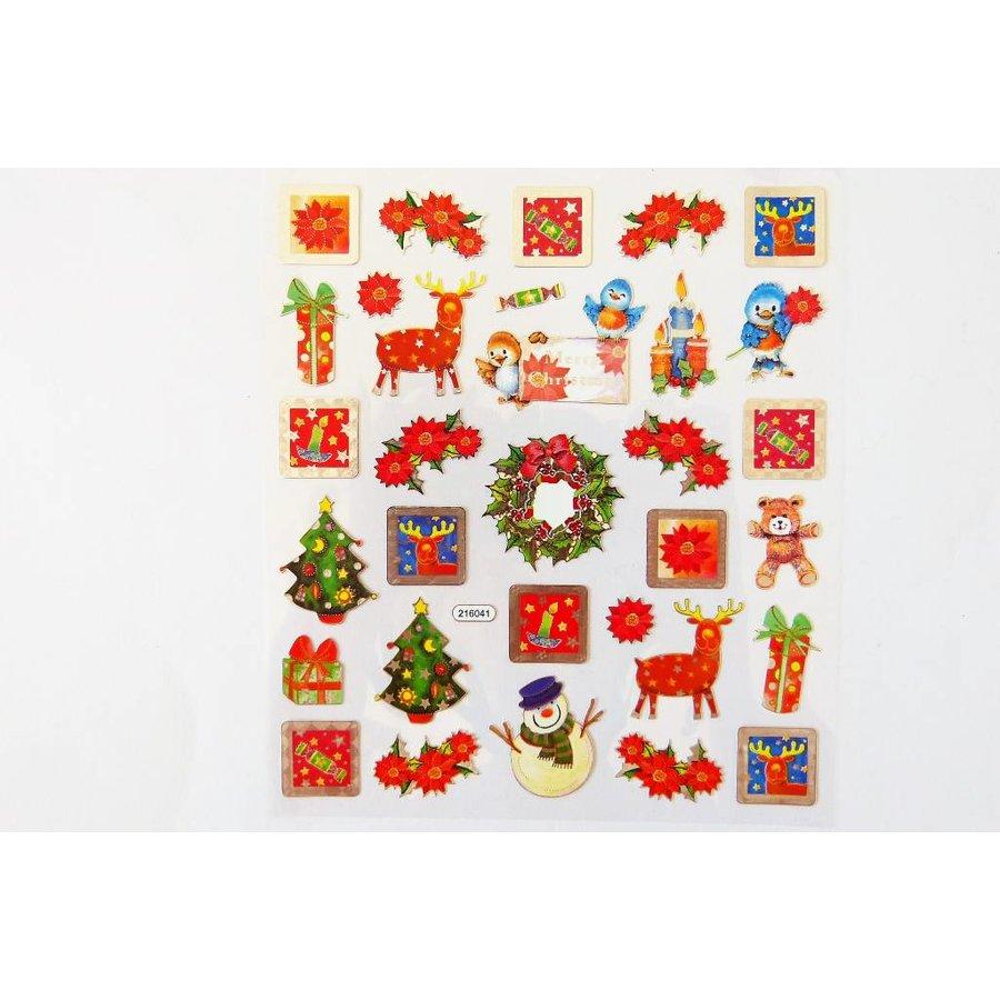 Selbstklebende Sticker Weihnachten