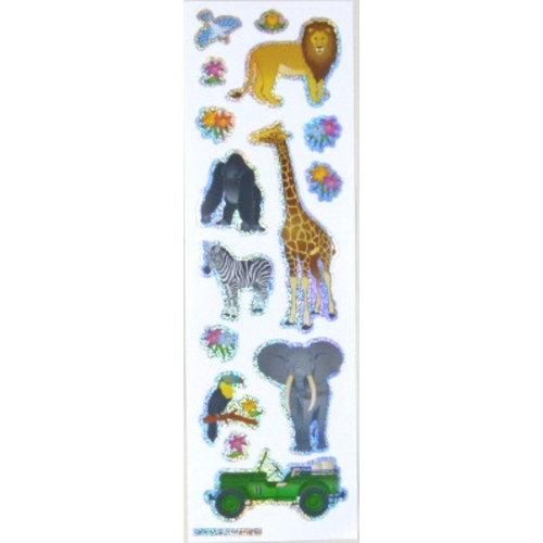 Sticker Zootiere klein