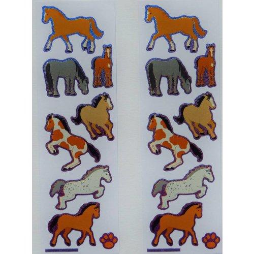 Sticker Pferde klein