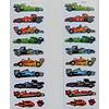 Selbstklebende Sticker Rennwagen klein
