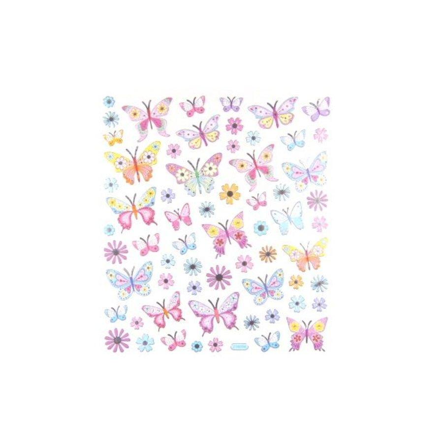 Selbstklebende Sticker Schmetterlinge