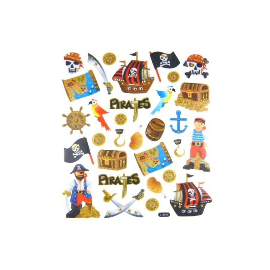 Selbstklebende Sticker Piraten