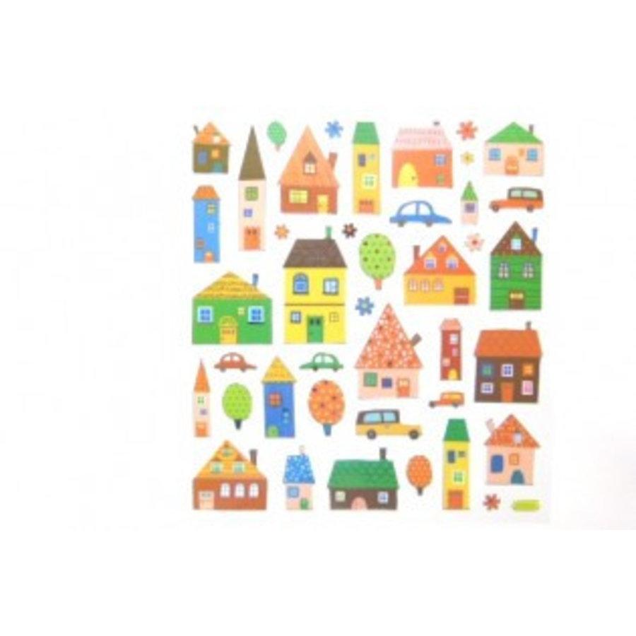 Selbstklebende Sticker Stadt