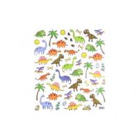 Selbstklebende Sticker Dinosaurier