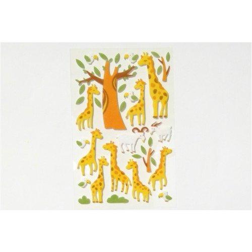 Sticker Filz Giraffen