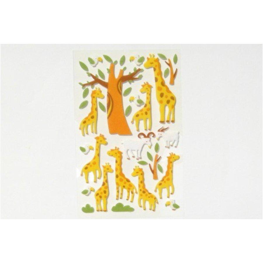 Selbstklebende Filzsticker Giraffen