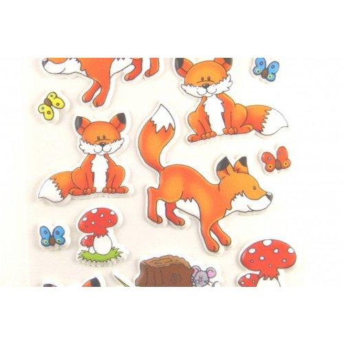 Sticker Füchse