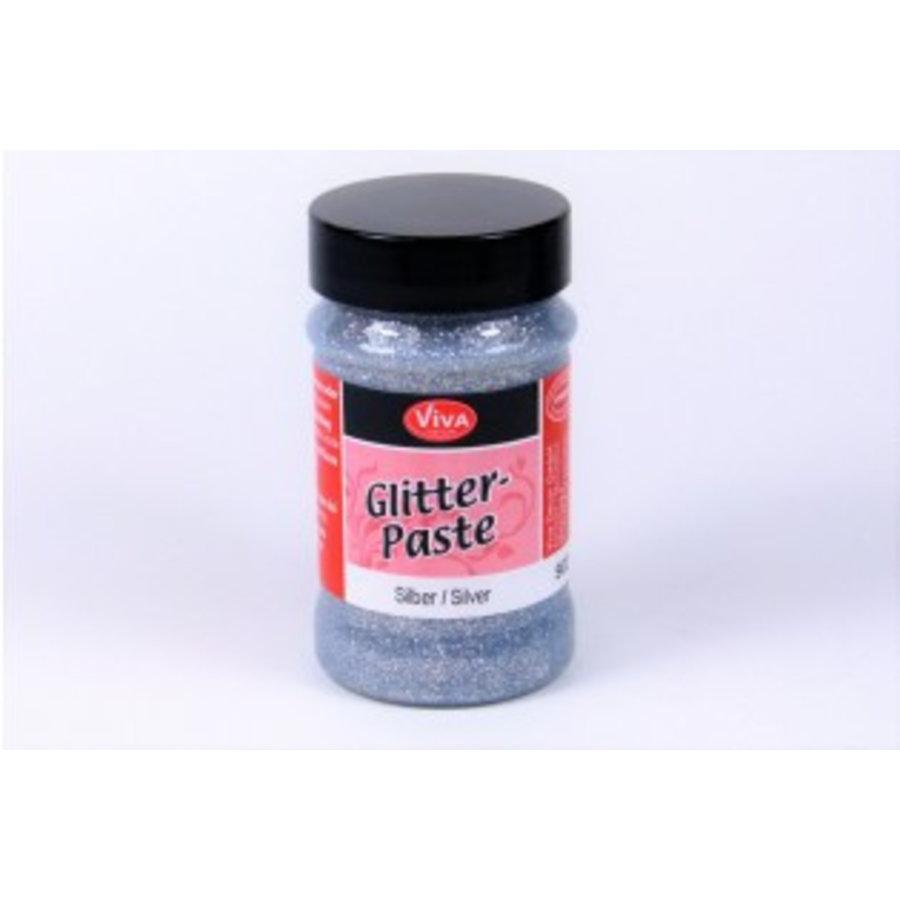 Glitter Paste - silber