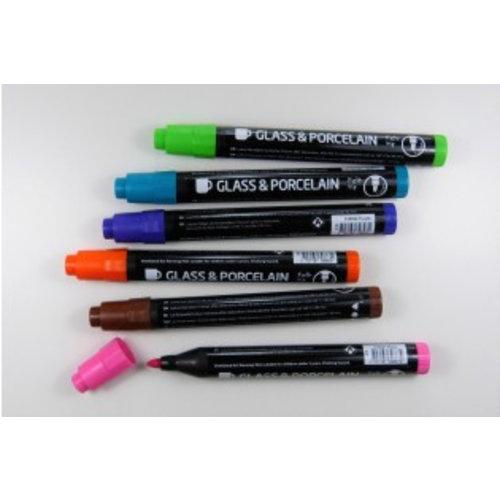 Porzellan- und Glasmalstifte