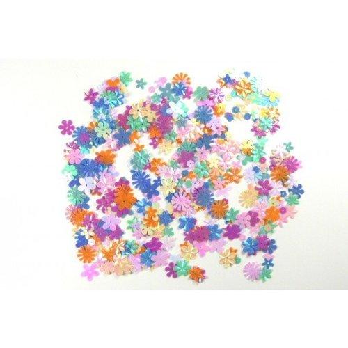 Blumen-Pailletten 15g