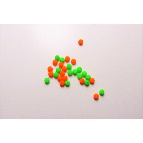 Neon Glasperlen klein