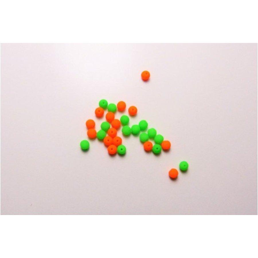 Neon Glasperlen klein 30 Stück