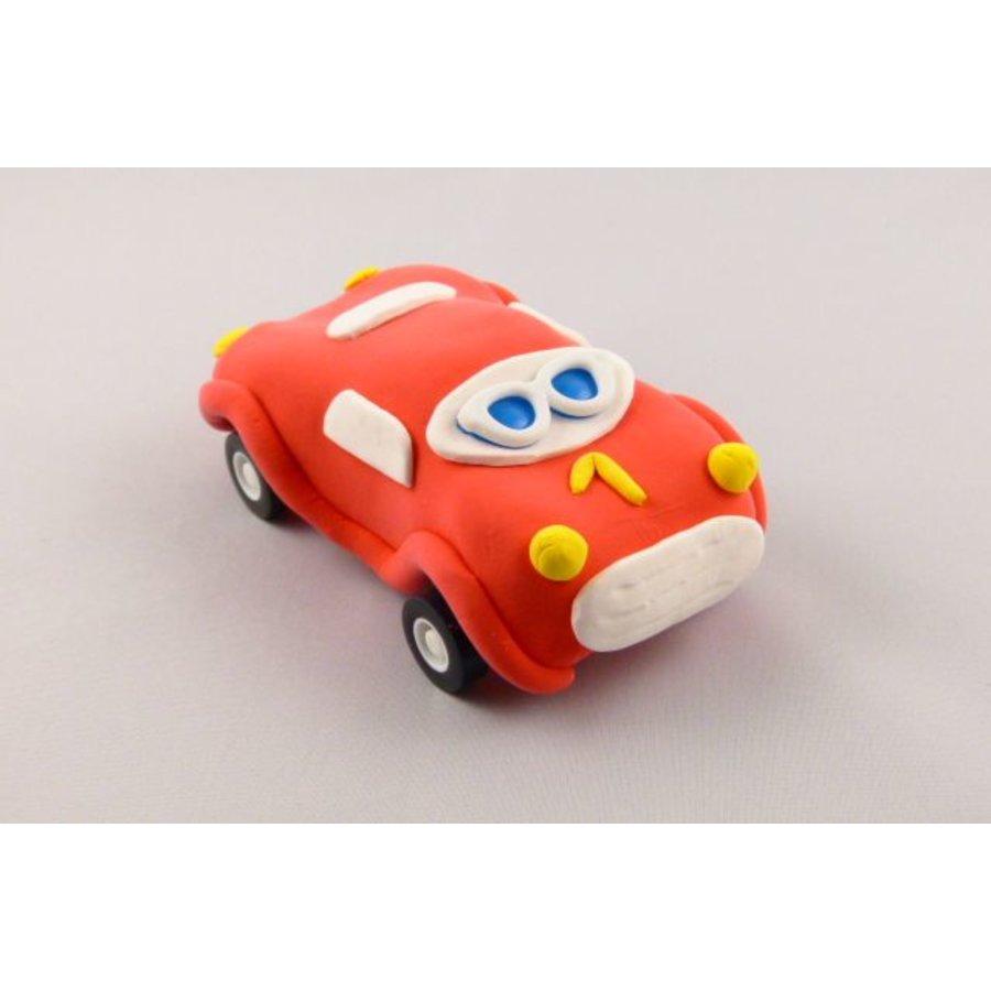 Bastelset - Auto rot
