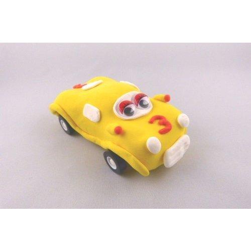 Bastelset - Auto gelb