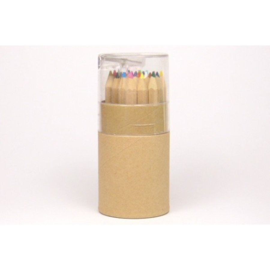 Buntstifte-Box mit Anspitzer
