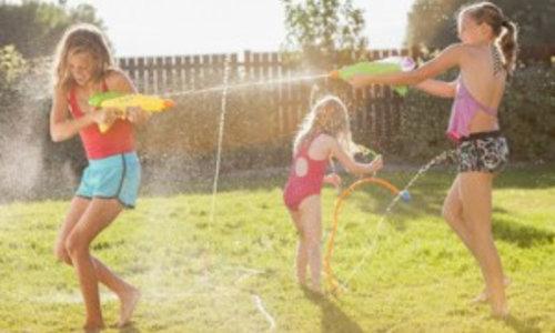 Kindergeburtstag im Sommer