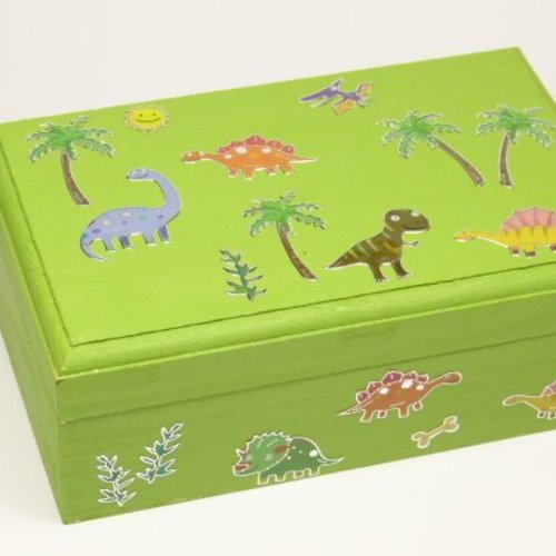 Kleine Dino-box basteln