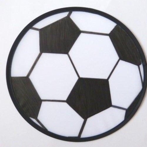 Fußball-Frisbee basteln