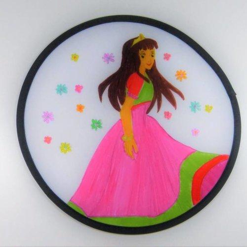 Prinzessinnen-Frisbee für Kinder