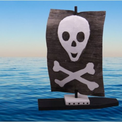 Piratenschiff aus Holz (+6 Jahre)