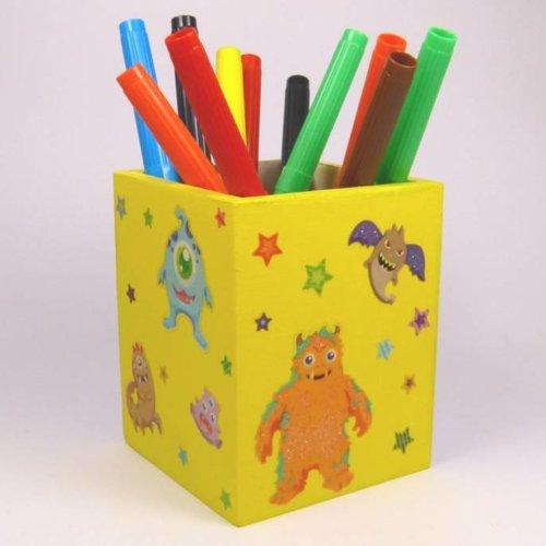 Monster-Stifteköcher (+3 Jahre)