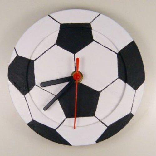 Fußball-Uhr basteln (+ 6 Jahre)