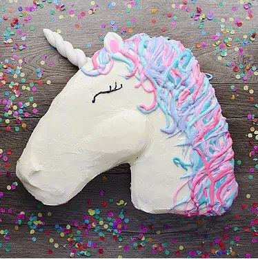 Einhornkuchen für den nächsten Geburtstag