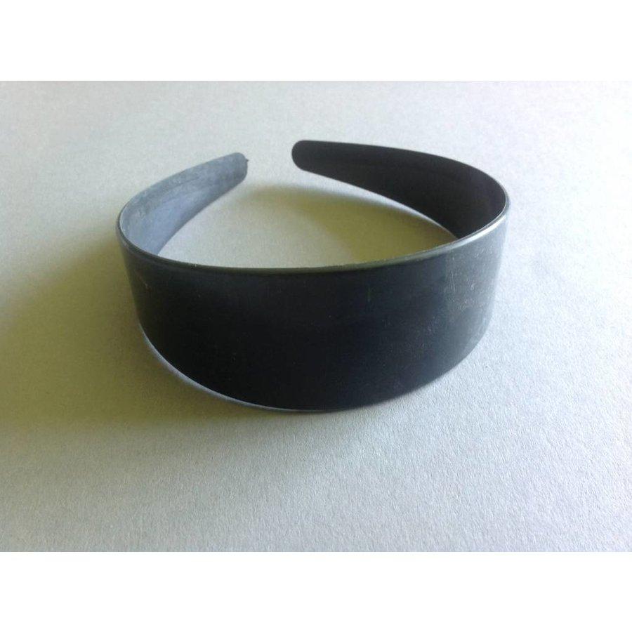 Haarreifen 48 mm schwarz
