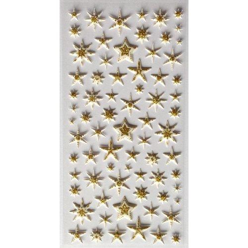 Sticker Sternen Gold
