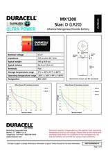 Duracell Batterij Plus Power Duralock D/LR20 blister 2