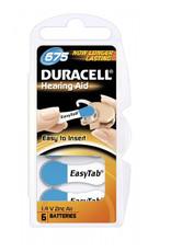 Duracell 10x blauw DA675 hoorapparaat batterij (60 stuks)