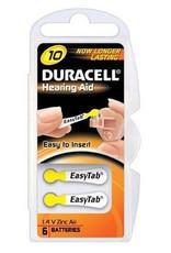 Duracell DA10 geel hoorapparaat batterij