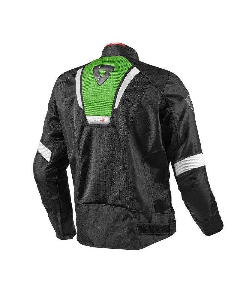 REV'IT! Jack GT-R Air, Zwart-acid green