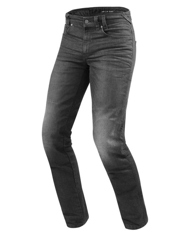 REV'IT! Jeans Vendome 2 - Donkergrijs Used