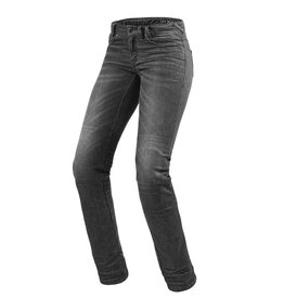 REV'IT! Jeans Madison 2 Ladies - Donkergrijs Used