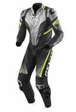 REV'IT! Eendelige overall Spitfire - Zilver-Neon Geel