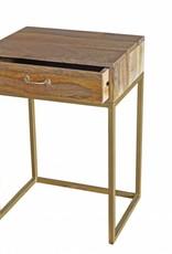 Jabulo Design Sideboard Kommode Holz und Metall retro