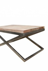 Jabulo Design Couchtisch Lucy Metall Holz